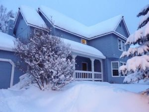 Lumi katolla