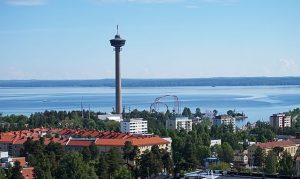 Tampere ariel view